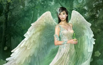 Fantasy - Angel Wallpapers and Backgrounds ID : 121153