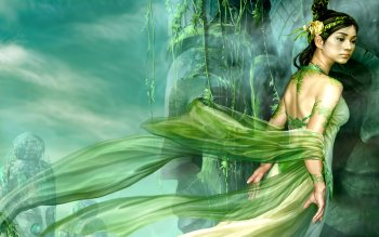 Fantasy - Women Wallpapers and Backgrounds ID : 121451