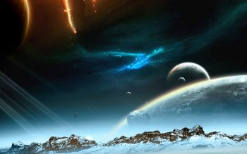 Sci Fi - Planet Rise Wallpapers and Backgrounds ID : 121741