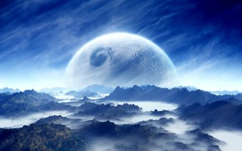 Science Fiction - Planet Rise Wallpapers and Backgrounds ID : 121793