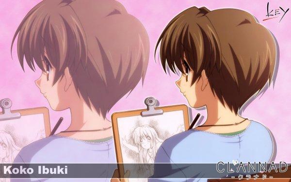 Anime Clannad Kouko Ibuki HD Wallpaper | Background Image
