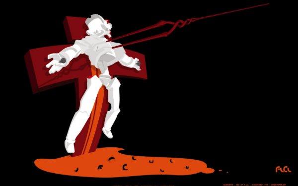 Anime Crossover Neon Genesis Evangelion FLCL HD Wallpaper | Background Image