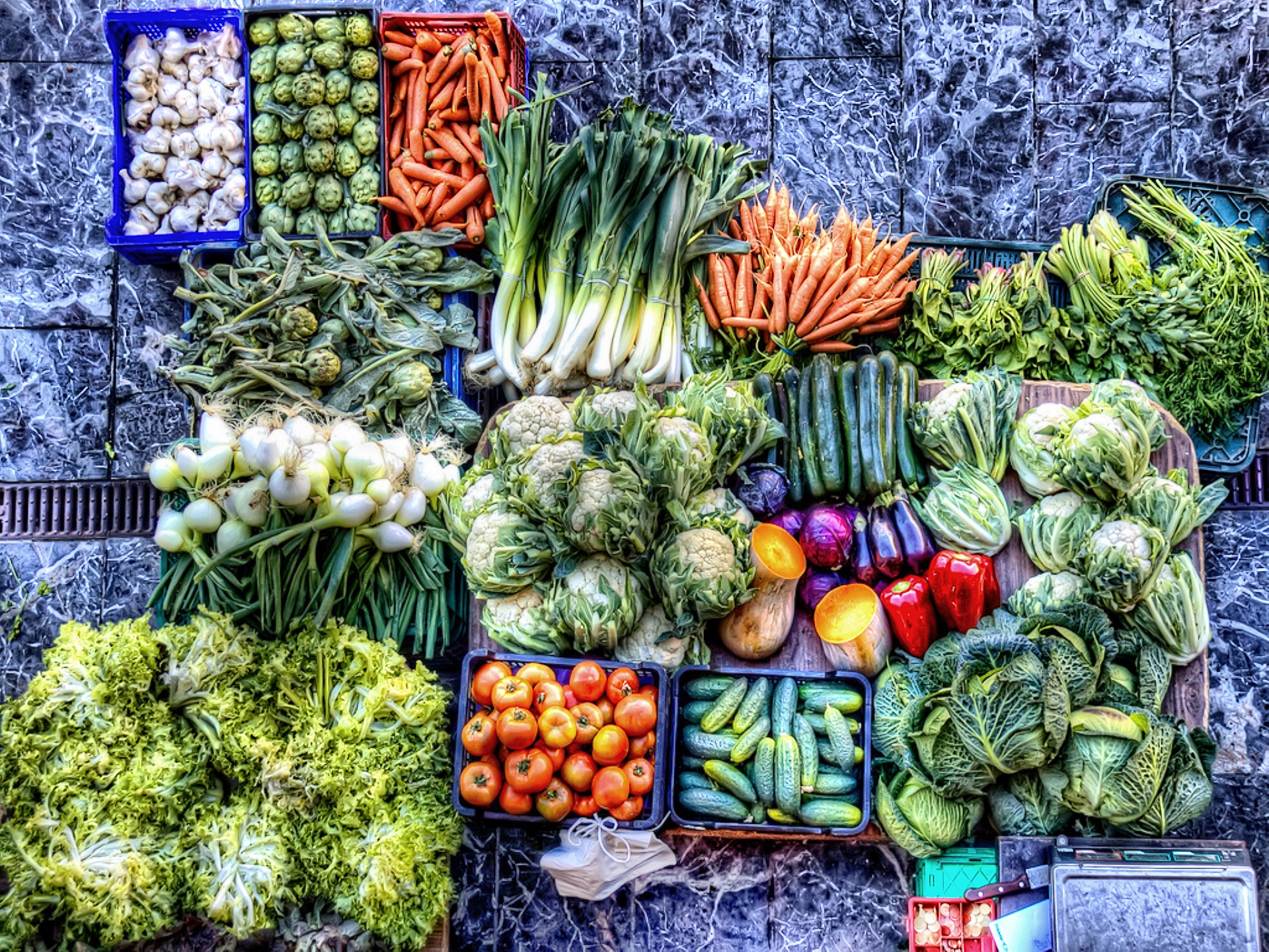 Vegetables HD Wallpaper | Background Image | 1920x1440 ...