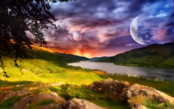 Fantasy - Landschaft Wallpapers and Backgrounds ID : 123291