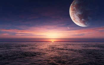 Science-Fiction - Sonnenaufgang Wallpapers and Backgrounds ID : 124681