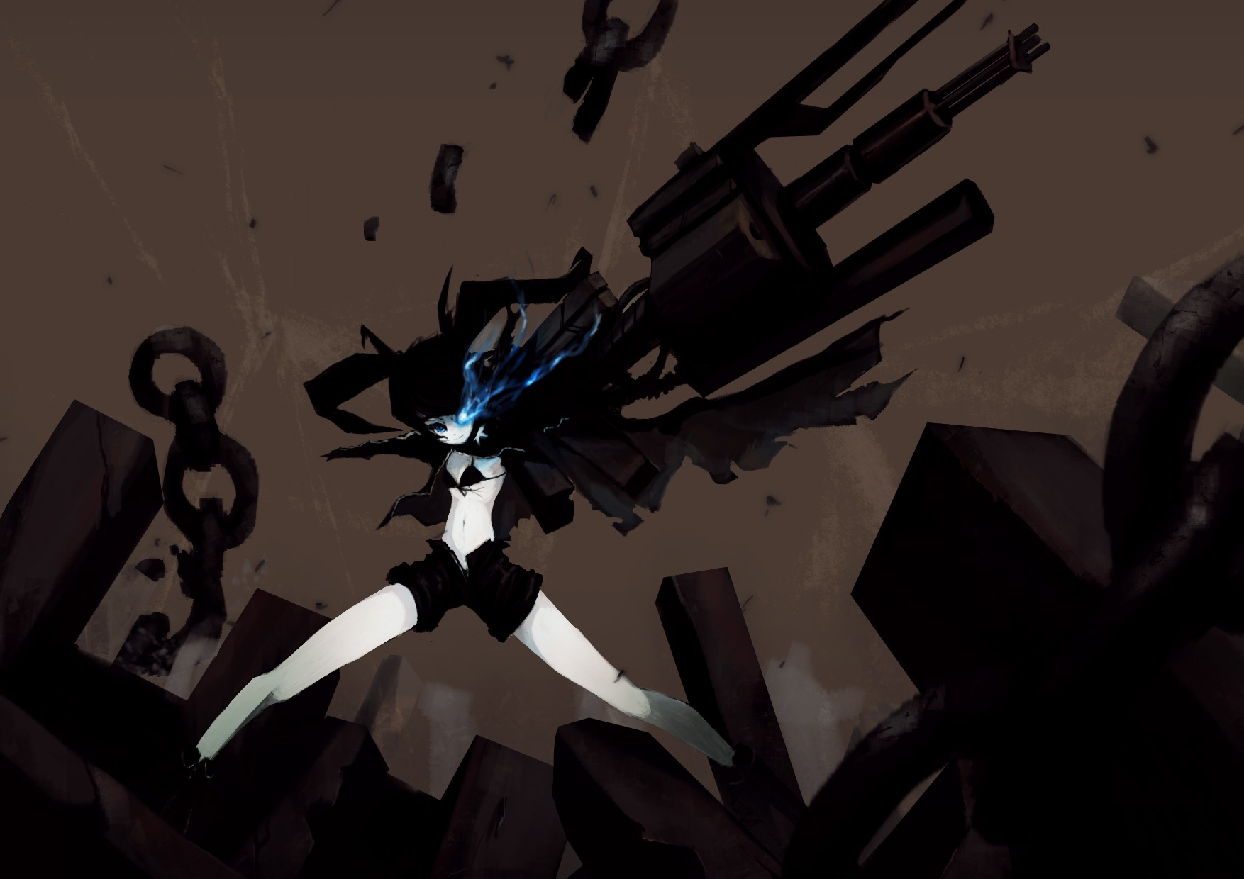 Anime - Black Rock Shooter  Wallpaper