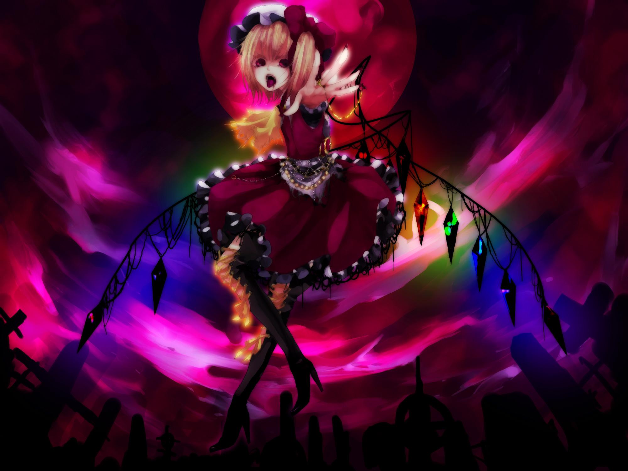 Anime - Touhou  Flandre Scarlet Wallpaper