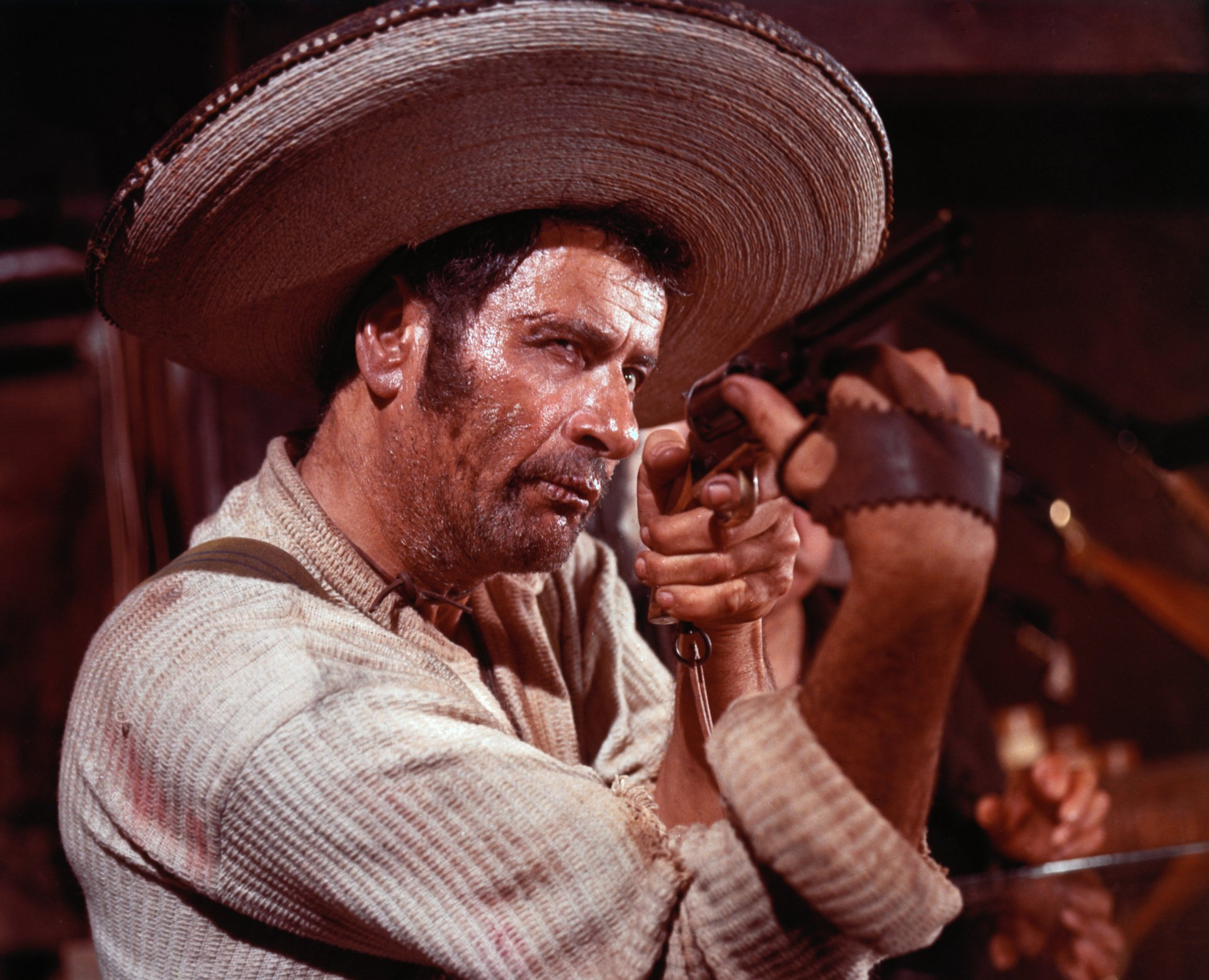 Movie - The Good, The Bad And The Ugly  Eli Wallach Wallpaper