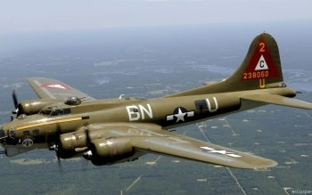 Military - Boeing B-17 Flying Fortress Wallpapers and Backgrounds ID : 131621