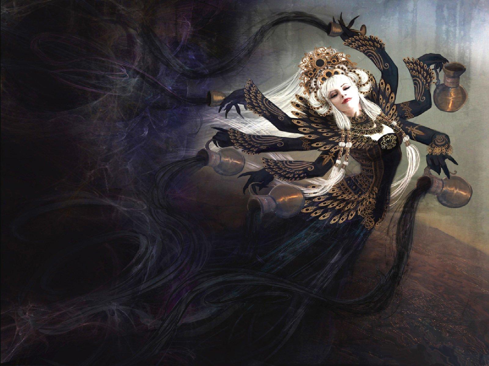 Fantasia - Escuridão  Fantasia Woman Papel de Parede