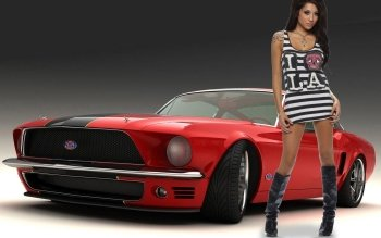 Vehículos - Ford Mustang Wallpapers and Backgrounds ID : 134073