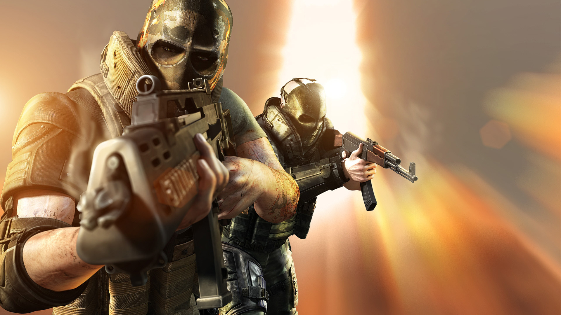 Army of Two: The Devil's Cartel Wallpaper in 1920x1080 |Army Of Two Wallpaper 1920x1080