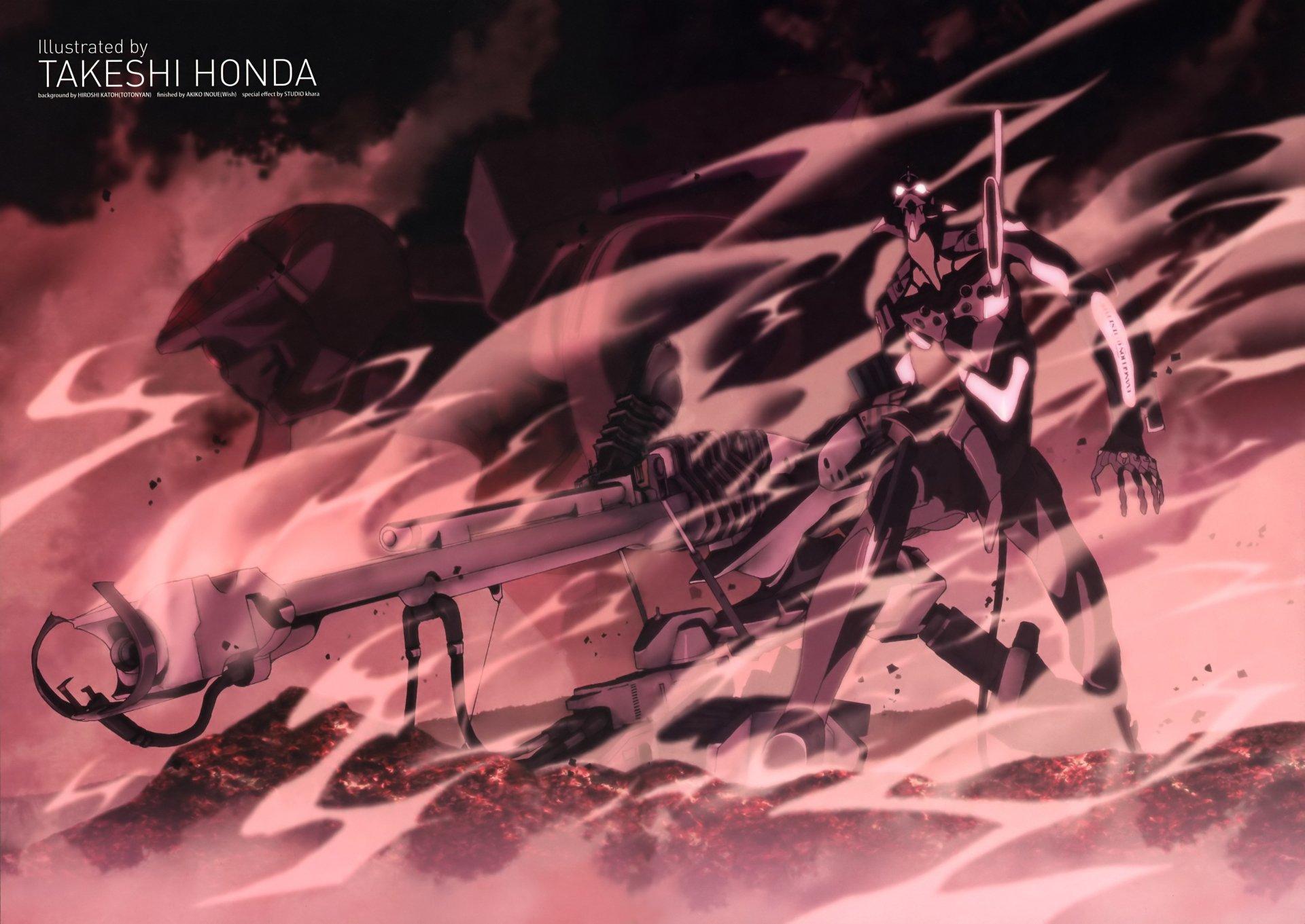 61 4k Ultra Hd Neon Genesis Evangelion Wallpapers Background