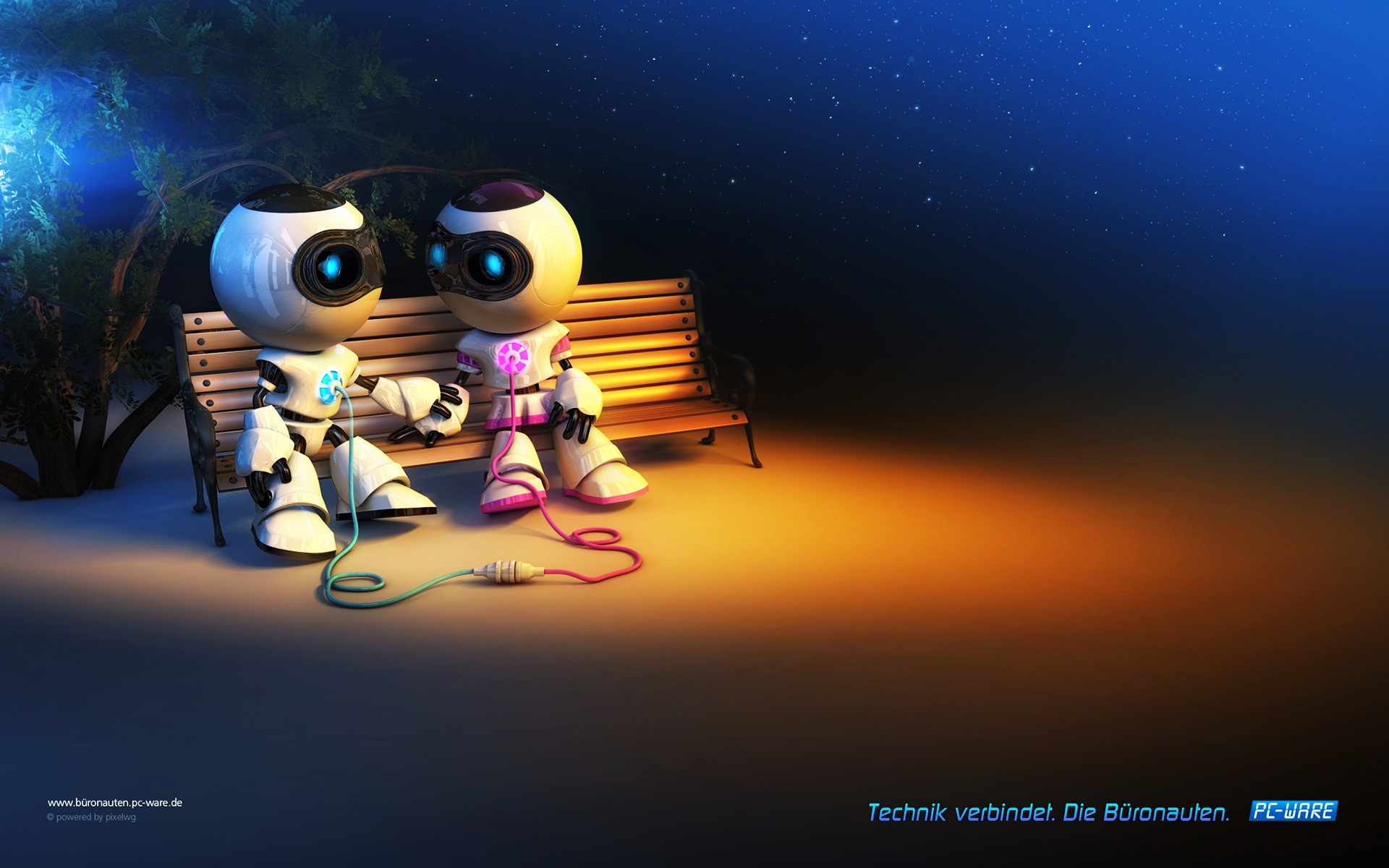 Cute Robot Love Wallpaper Robot Love Full HD Wal...