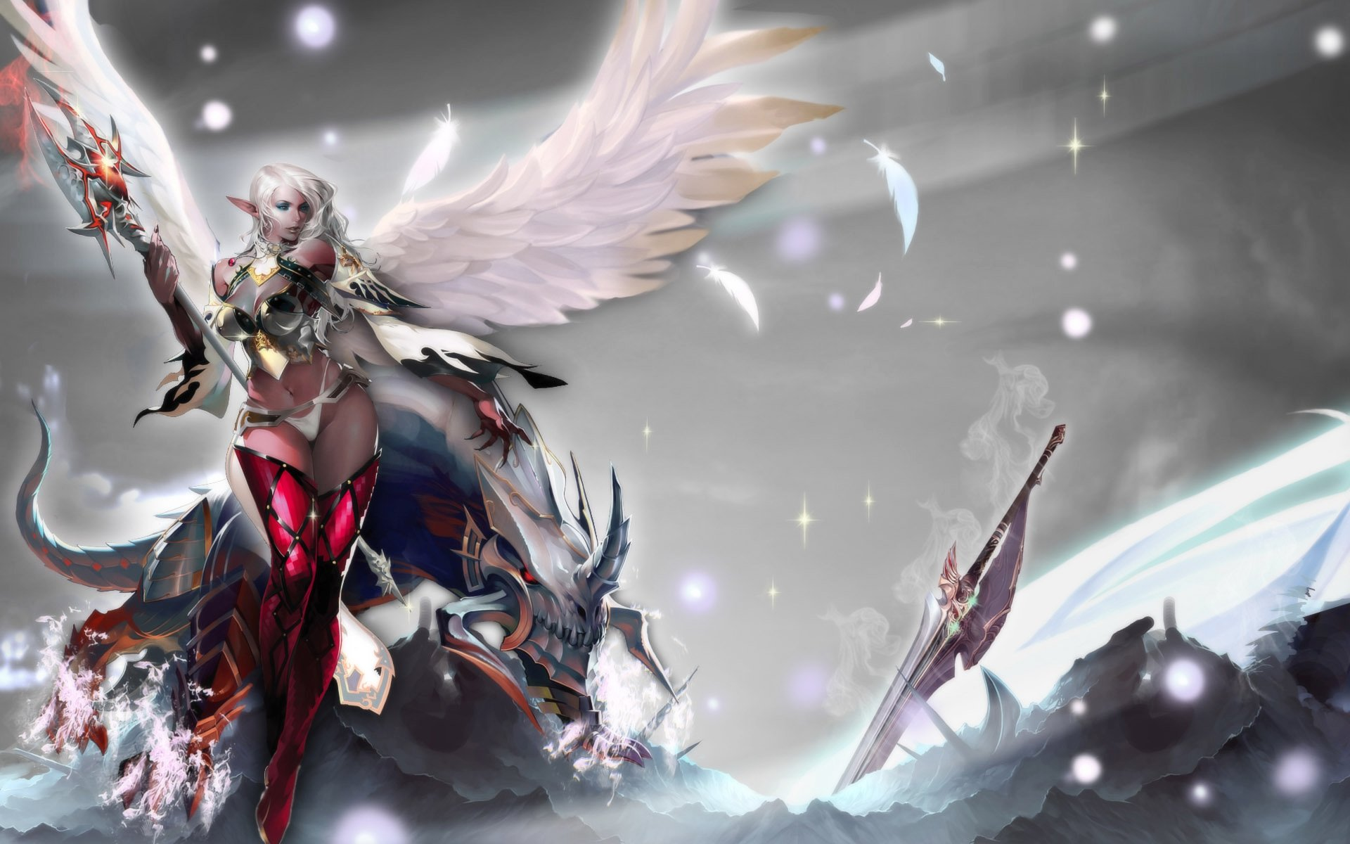 6 Lineage Ii Hd Wallpapers Background Images Wallpaper Abyss