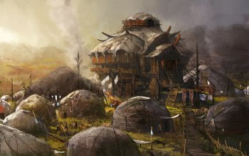 Fantasy - Building Wallpapers and Backgrounds ID : 137111