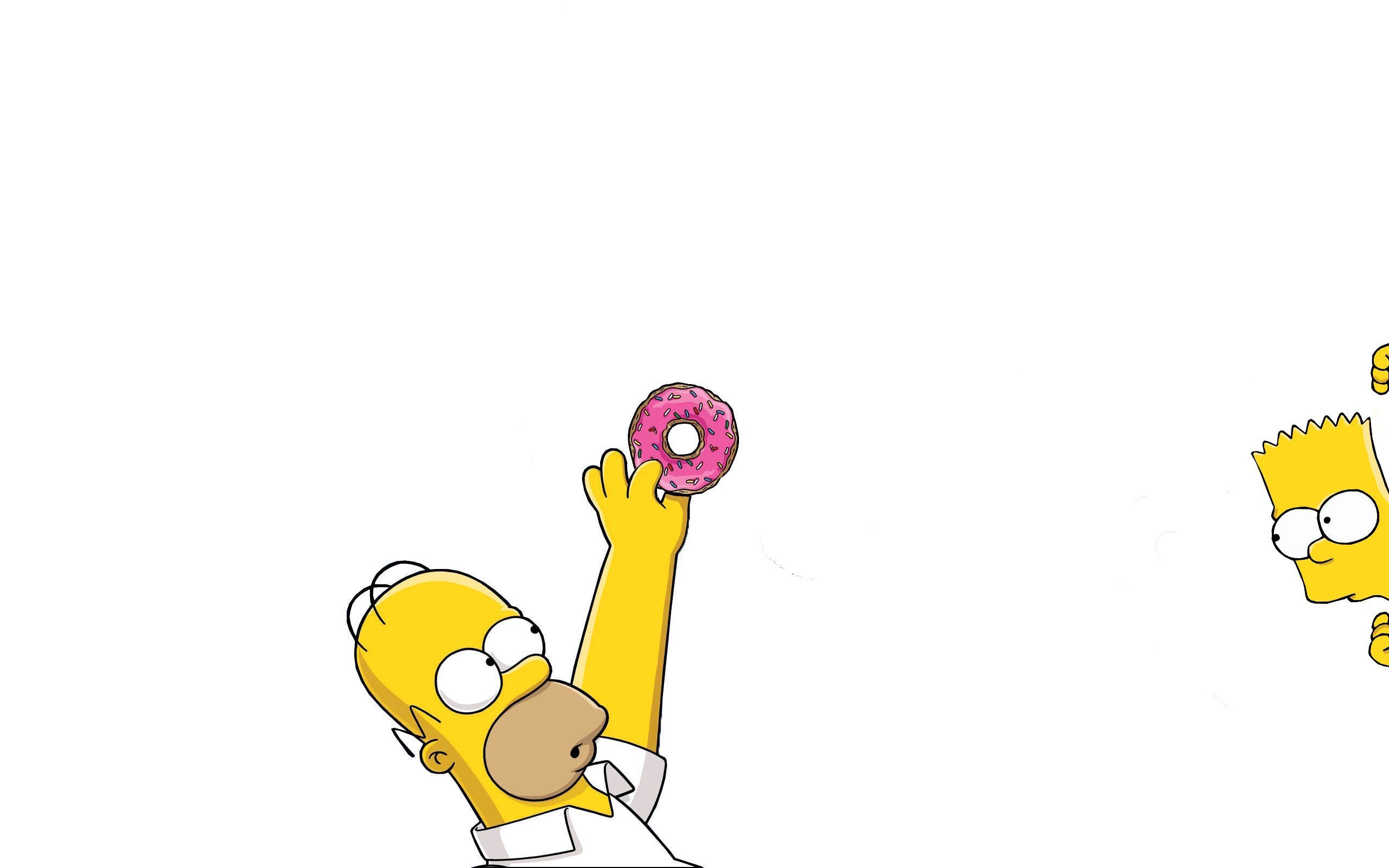 Homer And Bart HD Wallpaper