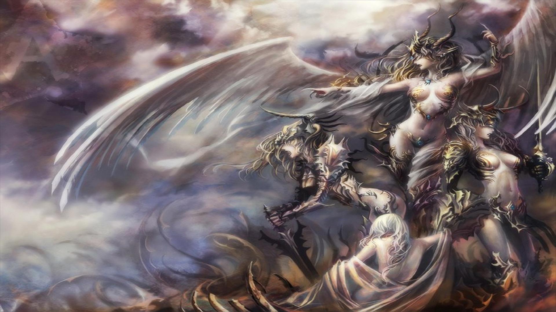 193 Angel Warrior HD Wallpapers | Backgrounds - Wallpaper ...