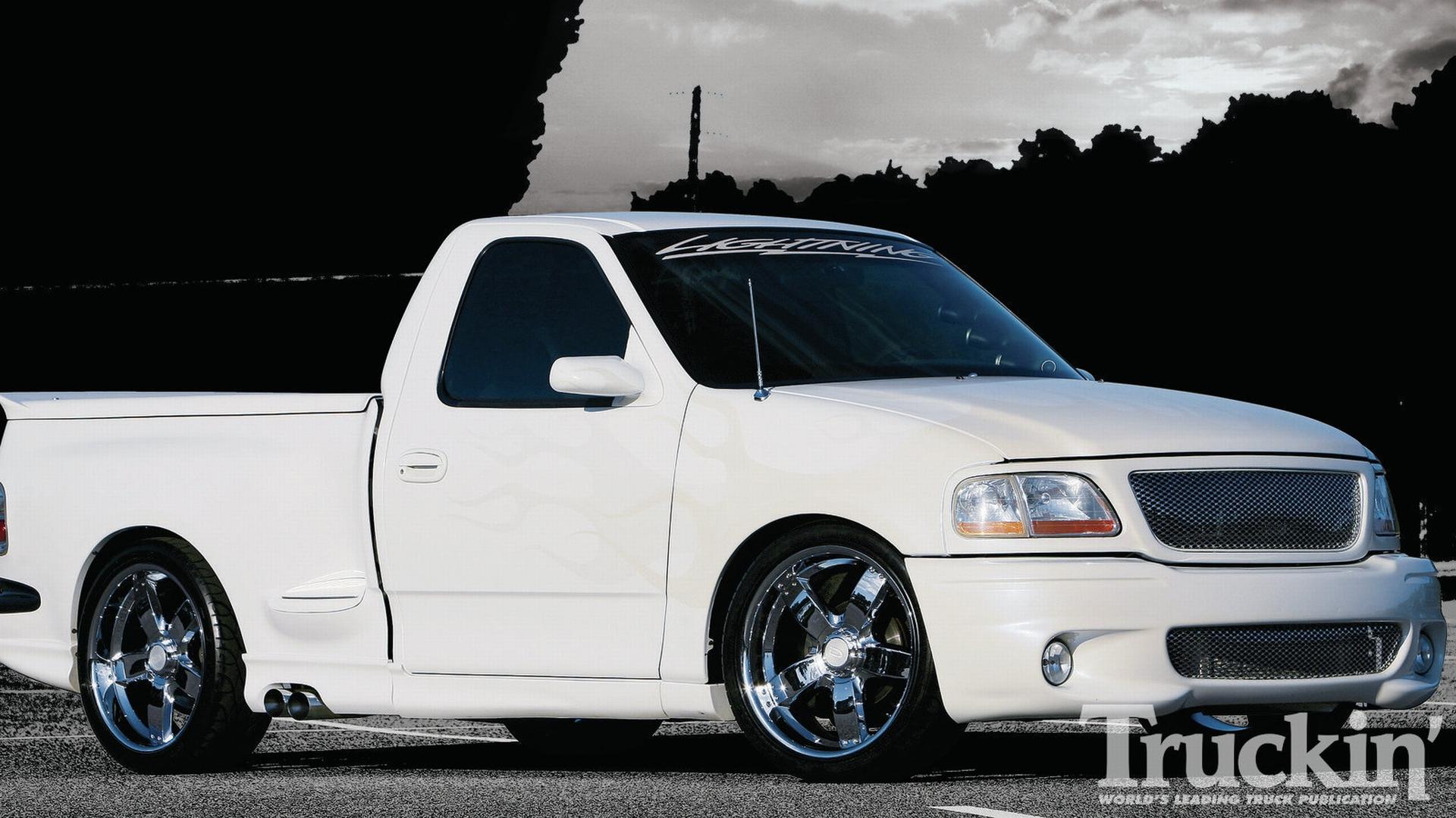 Ford SVT F Lightning muscle pickup d wallpaper × Ford