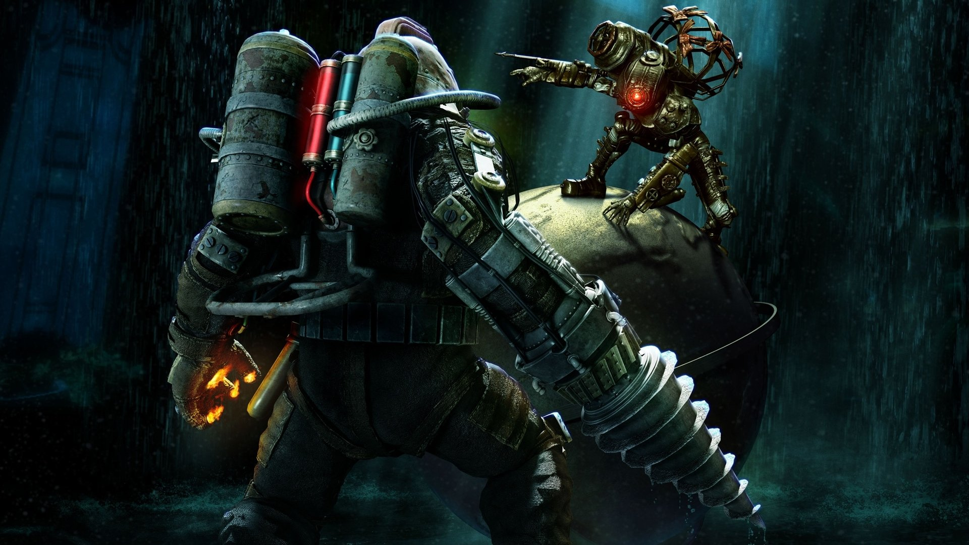 Video Game - Bioshock 2  Bioshock Wallpaper