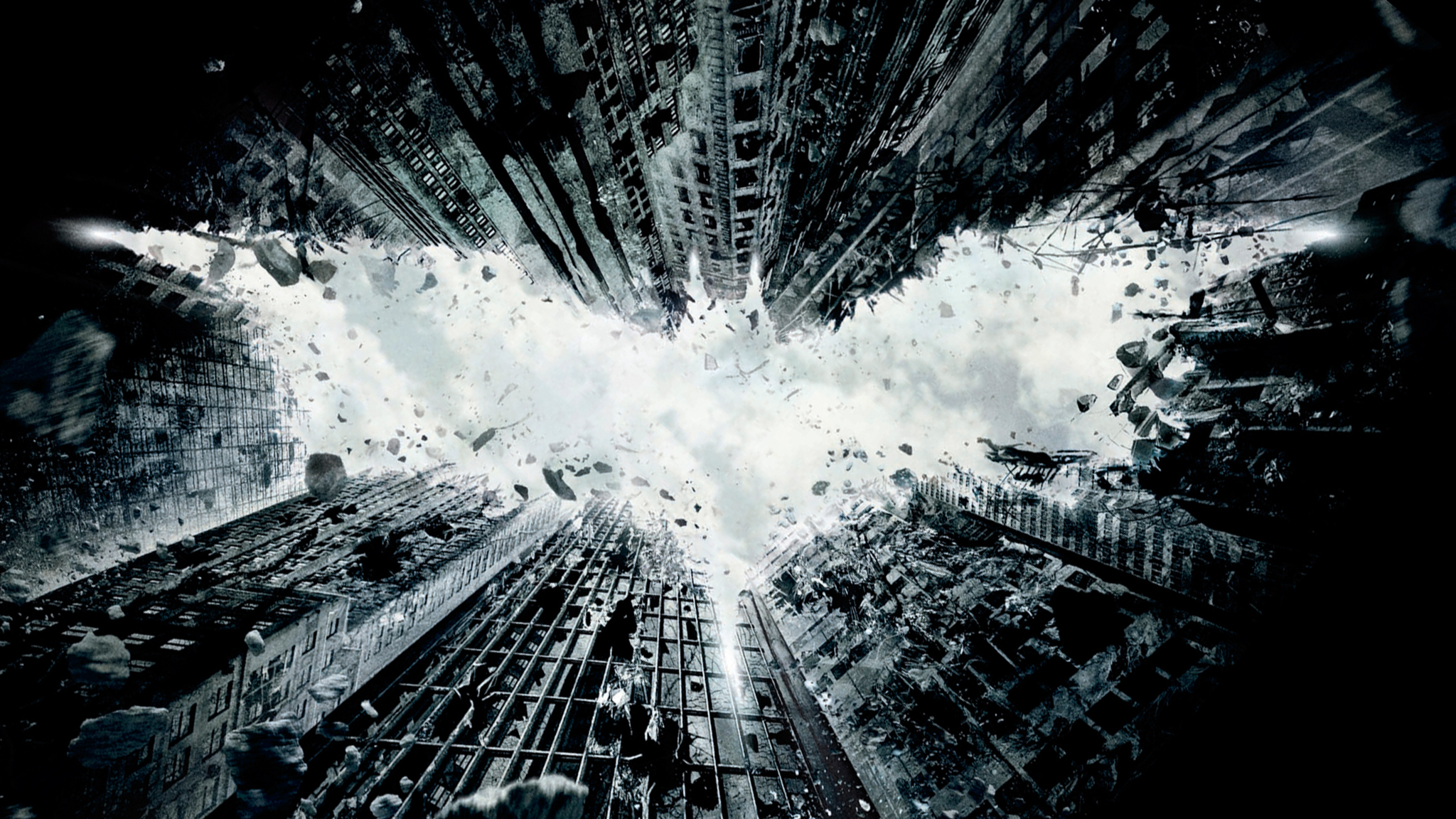 Films - The Dark Knight Rises  - Batman Achtergrond