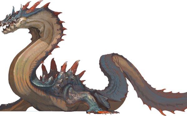 Fantasy Dragon Monster Hunter HD Wallpaper   Background Image