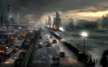 Science-Fiction - Großstadt Wallpapers and Backgrounds ID : 145403
