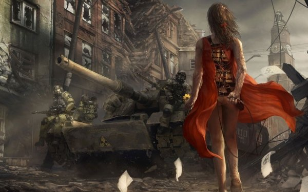 Sci Fi War Suicide Bomber HD Wallpaper   Background Image