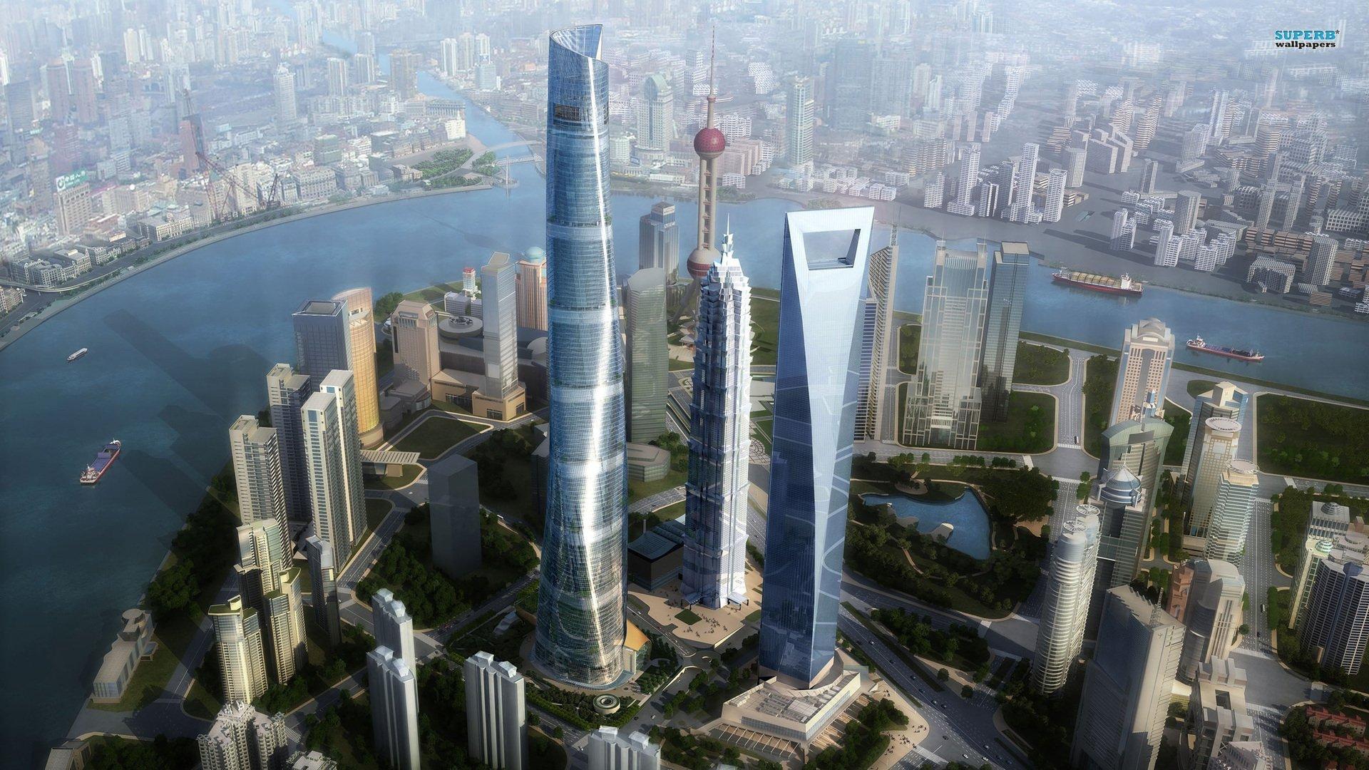 CGI - City  Wallpaper