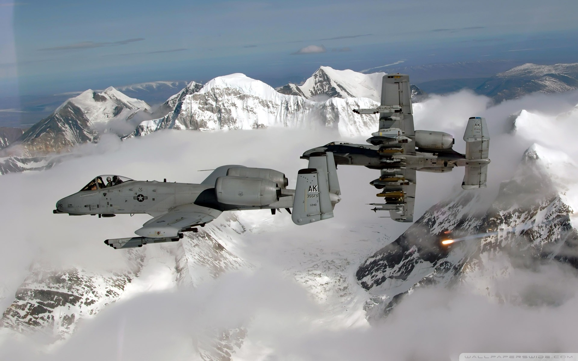 A-10 Warthogs Full HD Wallpaper and Background Image ...