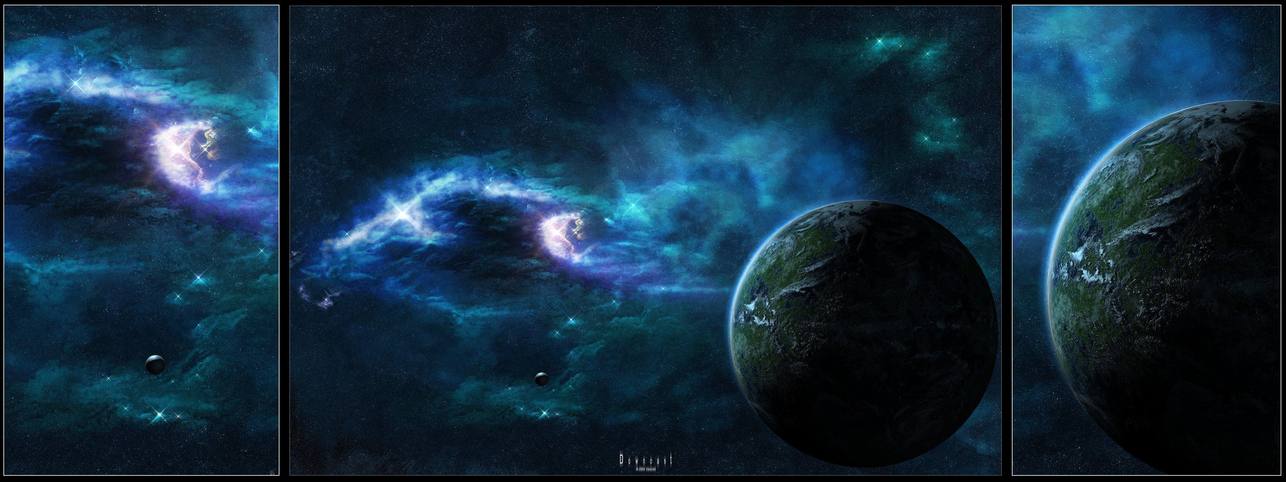 High Resolution Space Desktop Backgrounds