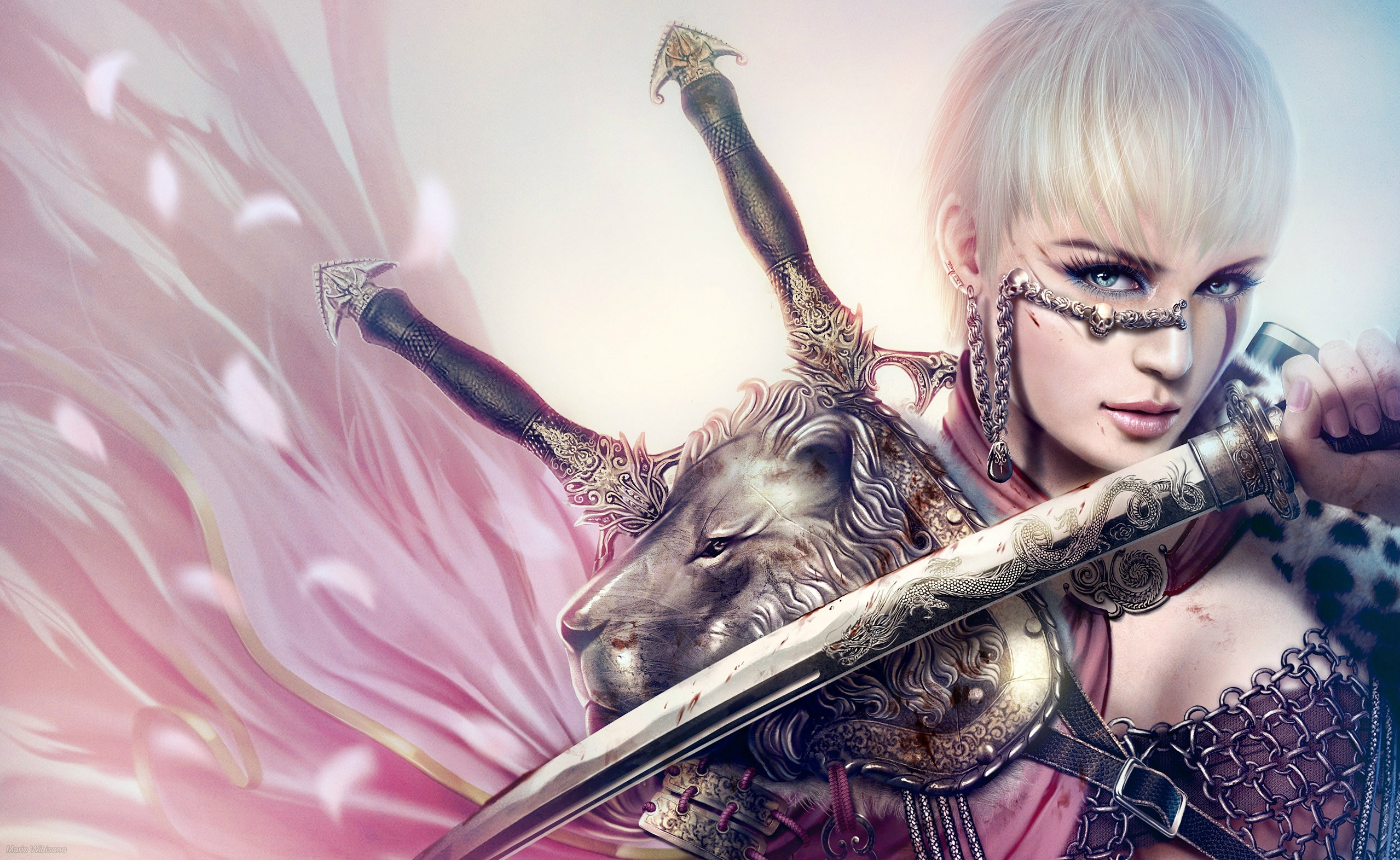 Legend of the five rings full hd wallpaper and background - Girl with sword wallpaper ...
