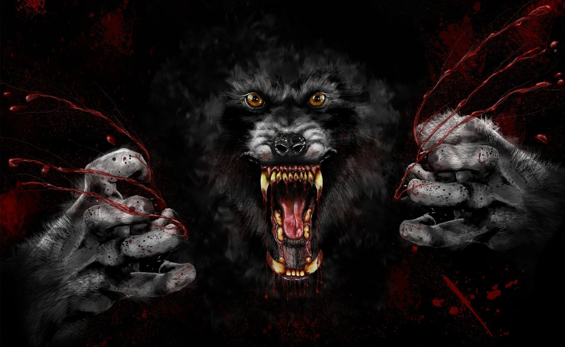 Dark - Werewolf  Wallpaper