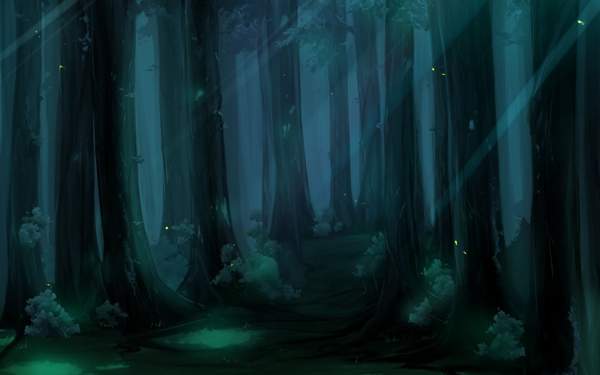 Fantasy - Forest  Wallpaper