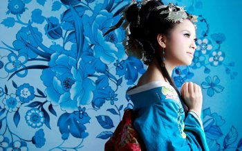 Women - Oriental Wallpapers and Backgrounds ID : 152091