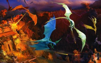 Fantasy - Dragon Wallpapers and Backgrounds ID : 153093