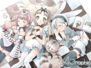 Preview Anime - Alice In Wonderland Art