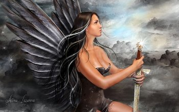 Fantasy - Angel Warrior Wallpapers and Backgrounds ID : 154161