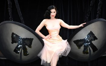 Beroemdheden - Dita Von Teese Wallpapers and Backgrounds ID : 154511