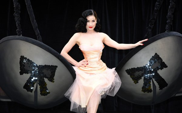 Celebrity Dita Von Teese Actresses United States HD Wallpaper | Background Image