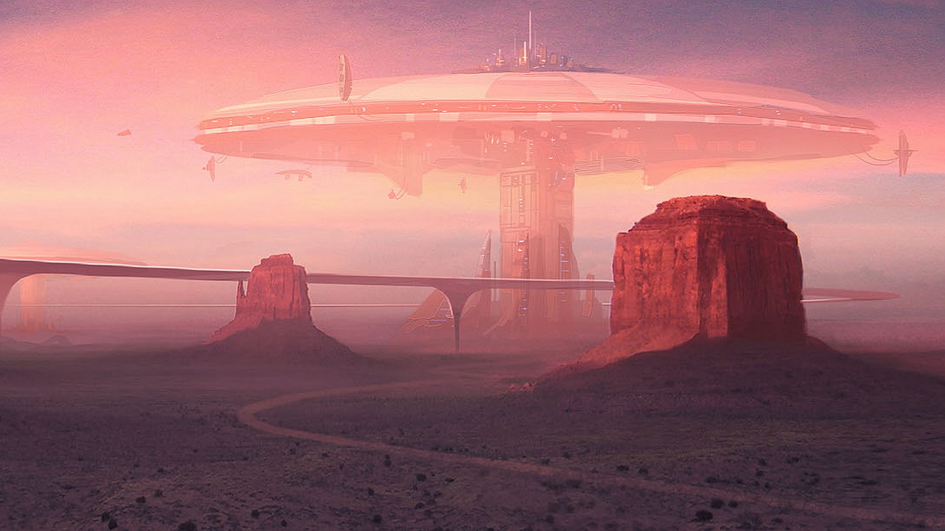 Sci Fi - City  Wallpaper