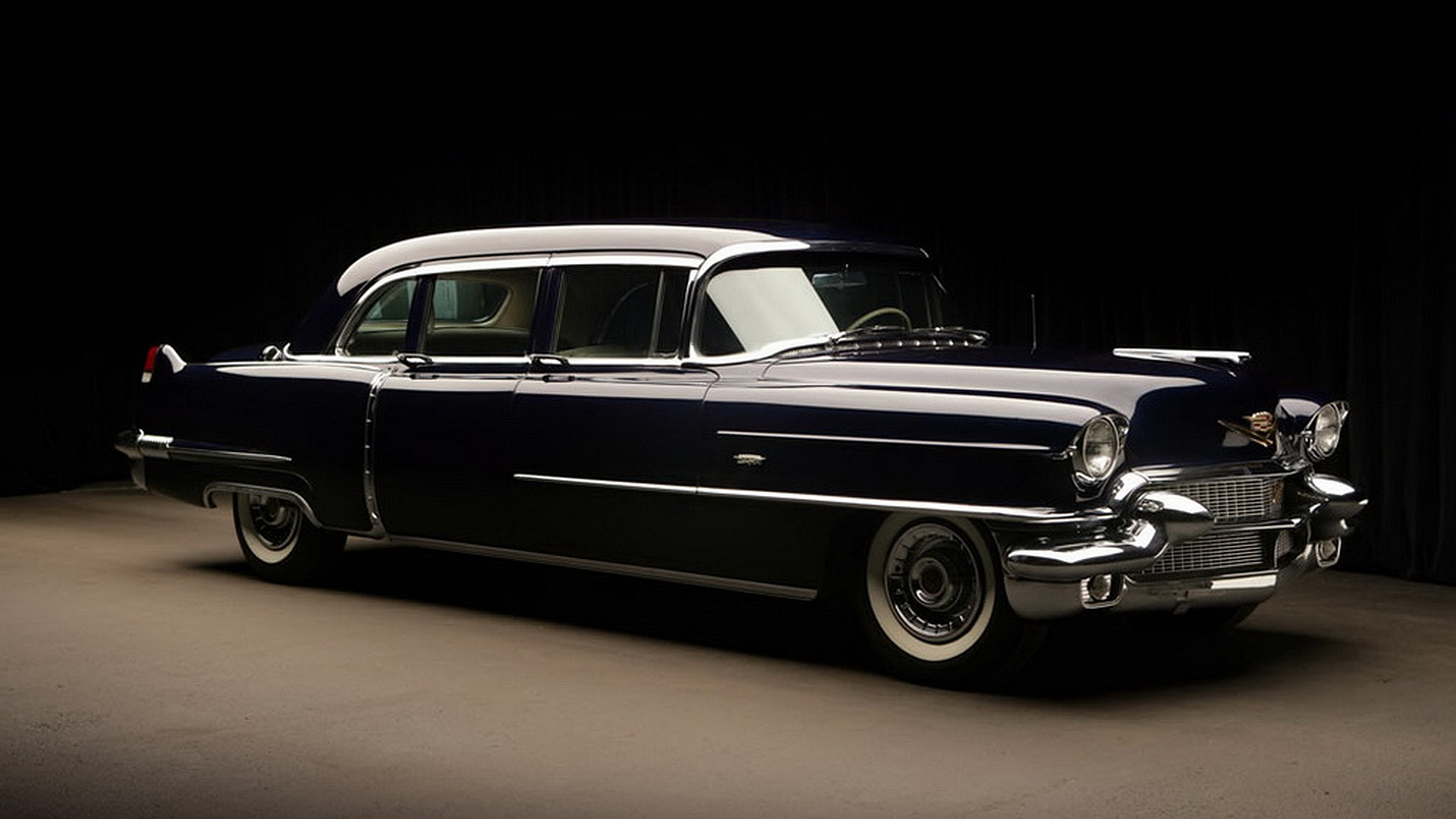 1956 Cadillac Fleetwood Series 75 Limousine Full HD