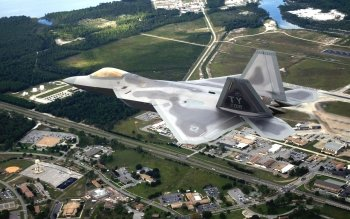 Militar - Lockheed Martin F-22 Raptor Wallpapers and Backgrounds ID : 155183