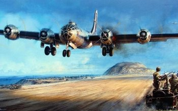Preview Military - Boeing B-29 Superfortress Art