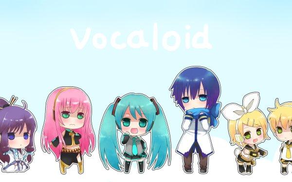 Anime Vocaloid Hatsune Miku Kaito Luka Megurine Kamui Gakupo Rin Kagamine Len Kagamine HD Wallpaper | Background Image