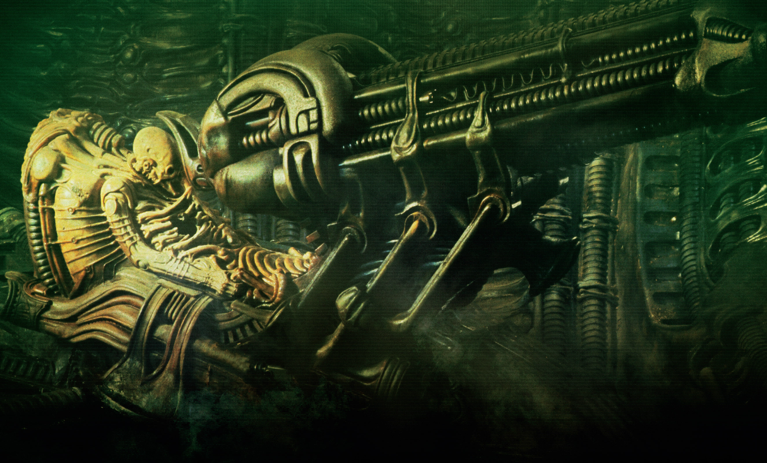 Alien Computer Wallpapers, Desktop Backgrounds | 2650x1600 | ID:156711 H.r. Giger Wallpaper