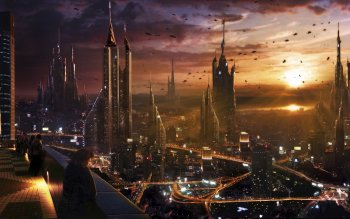 Sci Fi - City Wallpapers and Backgrounds ID : 156371