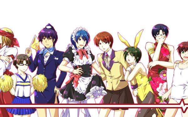 Anime Angel Beats! TK Yuzuru Otonashi Ayato Naoi Fujimaki Hinata Hideki Noda Ooyama Matsushita Takamatsu Takeyama HD Wallpaper | Background Image