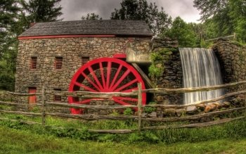 Man Made - Grist Mill Wallpapers and Backgrounds ID : 157991