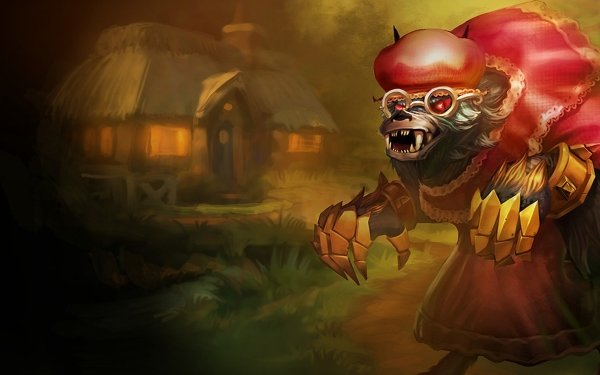Video Game League Of Legends Warwick Wolf HD Wallpaper | Background Image